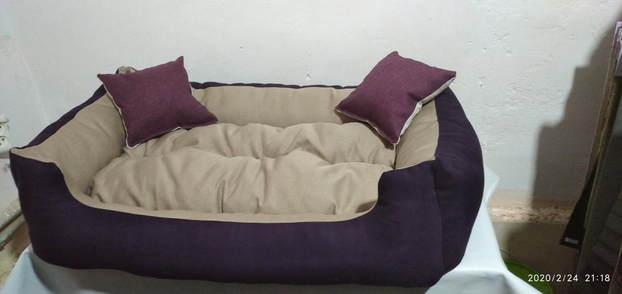 Диван лежанка Premium для больших собак всех  110 х 70 см.Лежанка,Лежаки,лежак,лежак для кошки,лежак