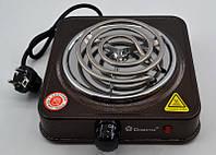 Электроплита 1 комфорка спираль Domotec MS-5801 (1000 Вт), фото 1