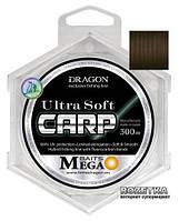 Волосінь Dragon Mega Baits Ultra Soft Carp 300 м 0.30 мм 8.00 кг (TDC-30-24-130)