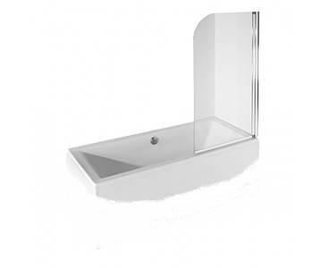 Шторка для ванни Ambition-1 75x130 Besco прозора