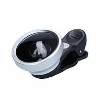 Универсальный панорамный объектив Selfie Cam Lens для смартфонов