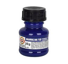 Туш Koh-i-Noor на водній основі,20 грам синя 1417007