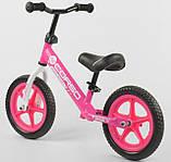 Біговел Corso на 12 дюймів велобіг від Корсо, Рожевий, фото 5