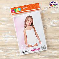 Комплект детского нижнего белья, трусики + майка для девочек 5-6 лет  655816127110