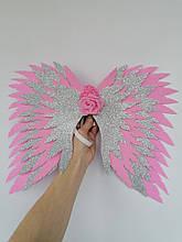 Крылья ангела розовые  крила рожеві  Украшение розовый крила янгола
