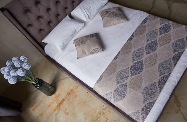 Кровать Борнео механизмом MW1600 (Embawood) коричневый (6)