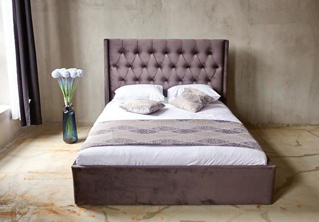 Кровать Борнео с подъемным механизмом MW1600 (Embawood) коричневый (2)