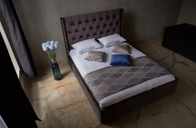 Кровать Борнео с подъемным механизмом MW1600 (Embawood) коричневый (4)