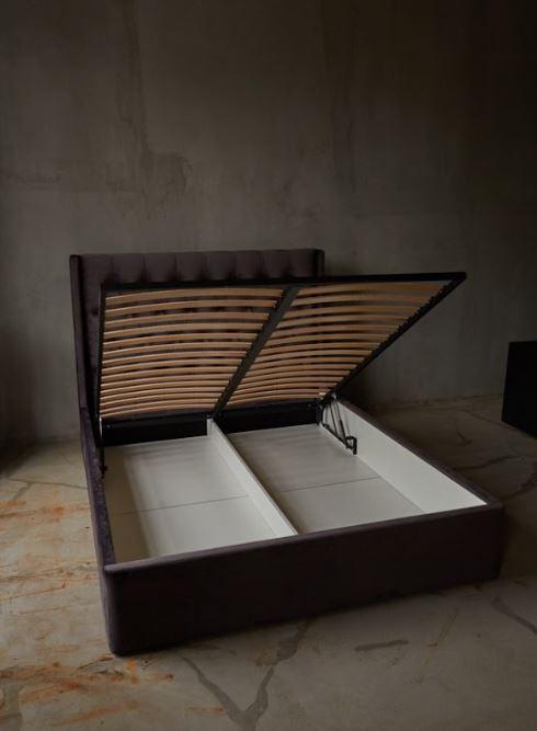 Кровать Борнео с подъемным механизмом MW1600 (Embawood) коричневый (5)