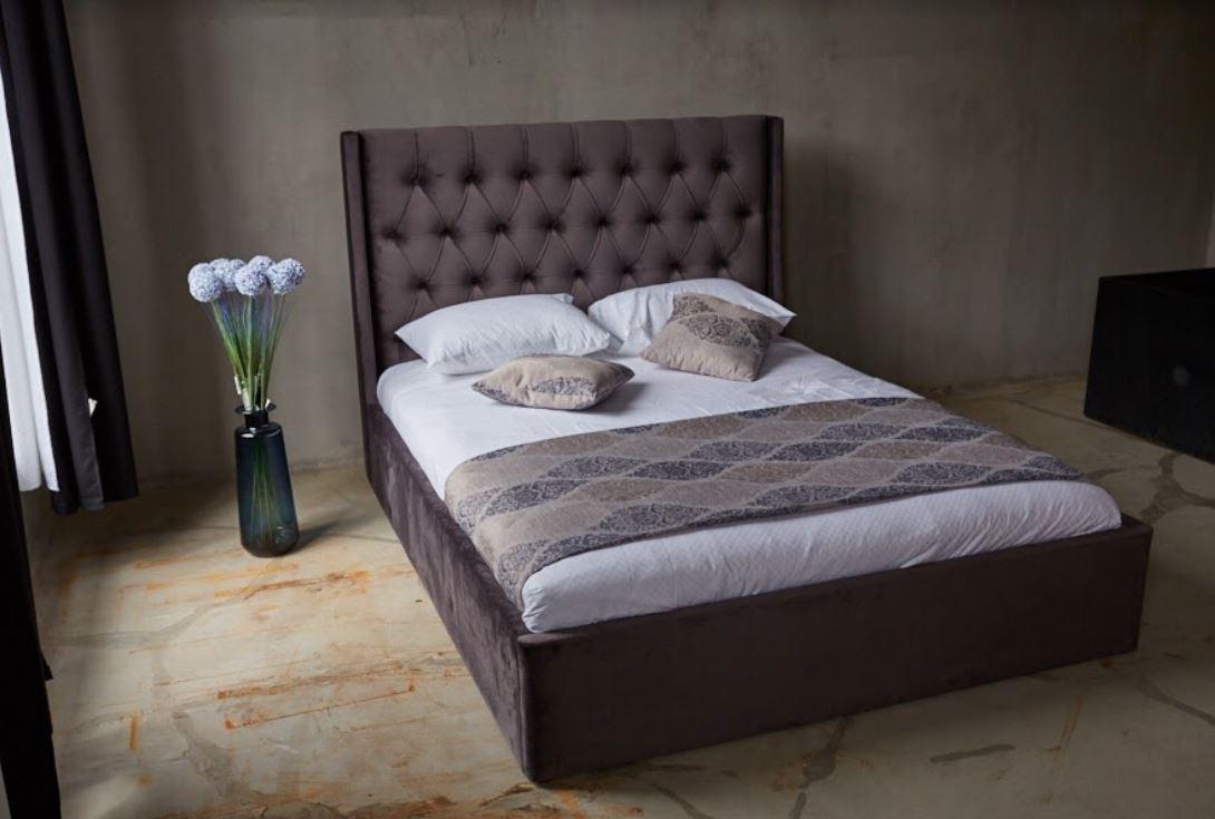 Кровать Борнео с подъемным механизмом MW1600 (Embawood) Коричневый