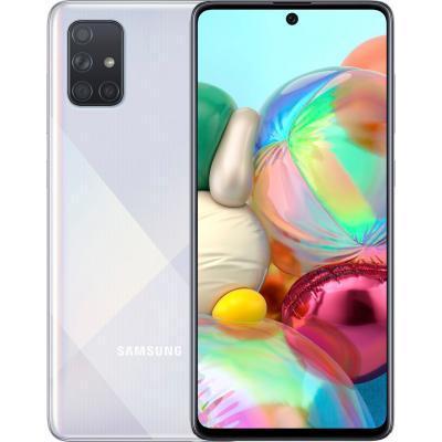 Мобильный телефон Samsung SM-A715FZ (Galaxy A71 6/128Gb) Silver (SM-A715FZSUSEK)