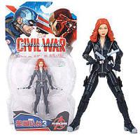 Фигурка Черная Вдова, Мстители, Марвел, 18 см - Black Widow, Avengers, Marvel SKU-14-143263