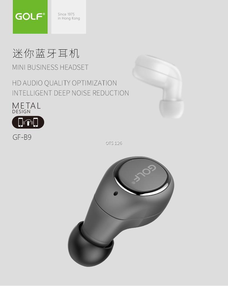 Bluetooth  Гарнитура Golf GF-B9 / беспроводные bluetooth наушники Golf GF-B9