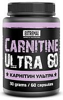 Жиросжигатель Карнитин ультра Extremal 60 кап. по 500 мг