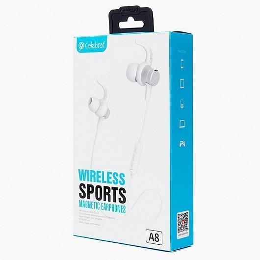 Беспроводные Bluetooth наушники - гарнитура Celebrat A8