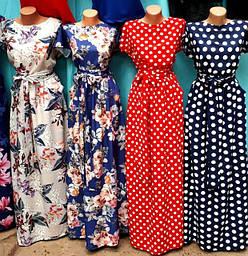 Женские платья летние