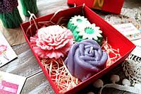 Подарочный набор мыла цветочный, фото 1