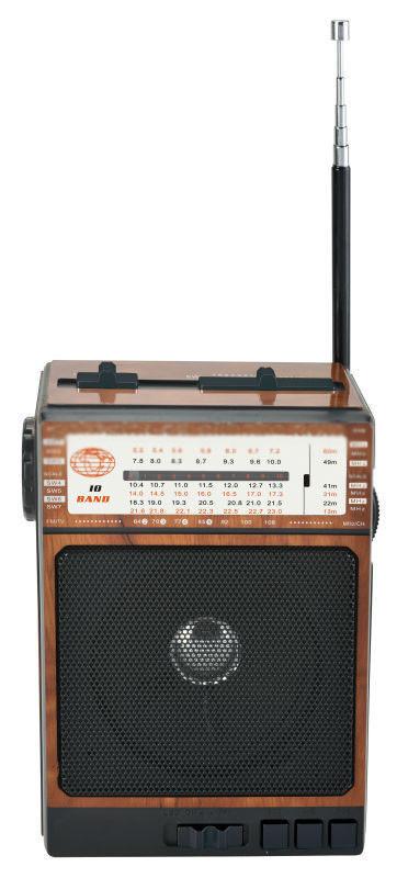 Радиоприемник колонка MP3 Golon RX-077 Wooden