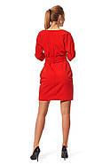 Сукня в діловому стилі (р. 42,44,46,48,50,52) креп костюмний, фото 3