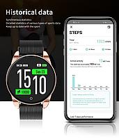 Наручные смарт часы Smart Watch M12 c  IPS экраном, фитнес-браслет, фото 1