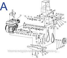 Запчасти для мотокультиватора Sadko М-450R