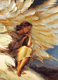 """Набор алмазной вышивки (мозаики) """"Под крыльями Ангела"""""""