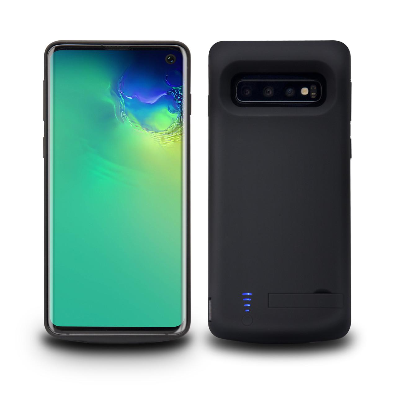 Чехол-аккумулятор XON PowerCase для Samsung Galaxy S10 6000 mAh Black