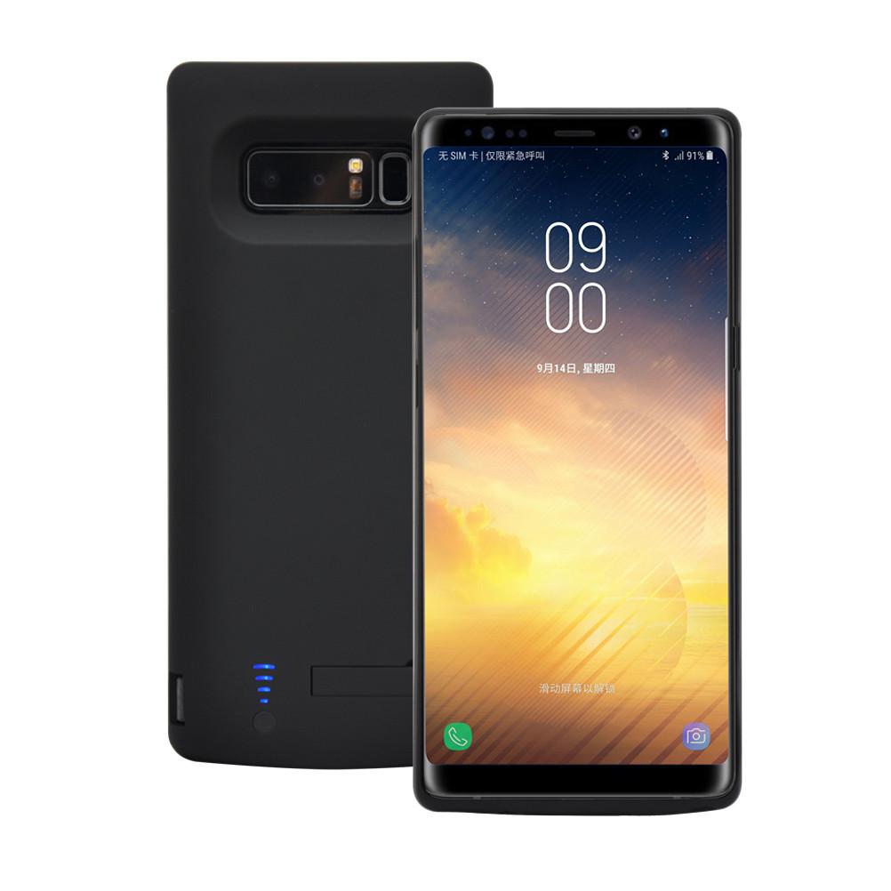 Чехол-аккумулятор XON PowerCase для Samsung Galaxy Note 8 6500 mAh Black