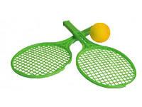 Теннисный набор Ракетка маленькая и мяч 0373 Технок