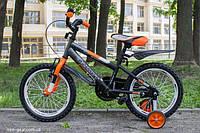 """Детский двухколесный велосипед Azimut 12"""" Stitch Стич  Азимут  для мальчика"""