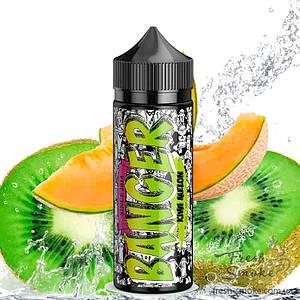BANGER 120 мл Жидкость (Заправка) для Вейпа Kiwi Melon, 0 мг