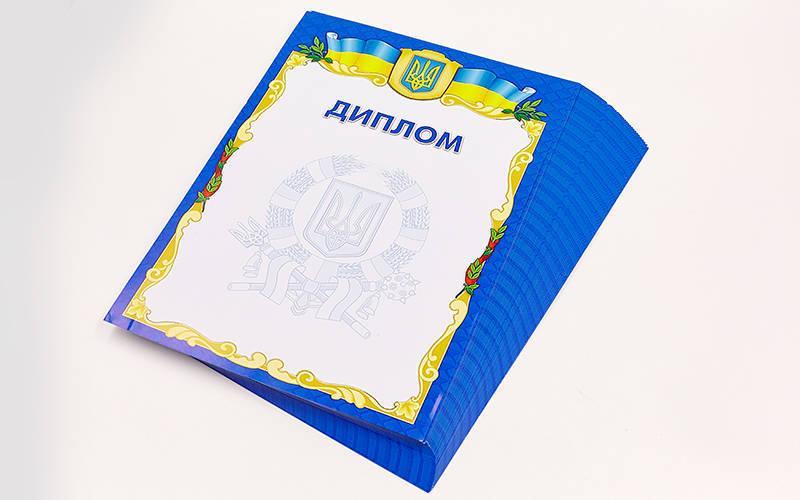 Диплом спортивный чистый С-1802-1 (бумага, формат A4, 21см х 29,5см, в уп.50шт, цена за 1шт) PZ-C-1802-1