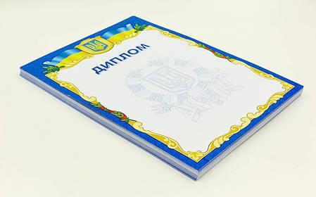 Диплом спортивный чистый С-1802-1 (бумага, формат A4, 21см х 29,5см, в уп.50шт, цена за 1шт) PZ-C-1802-1, фото 2