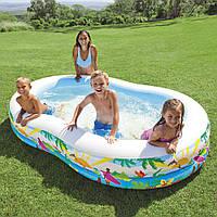 Детский бассейн Райская лагуна 56490 Intex (262х160х46 см), фото 1
