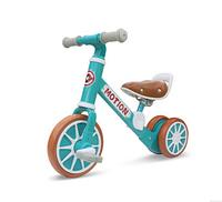Дитячий велосипед-трансформер MOTION толокар 2 в 1 Блакитний (SUN6610)