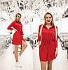 Сукня жіноча з куліскою по талії (6 кольорів) ТК/-1236 - Червоний