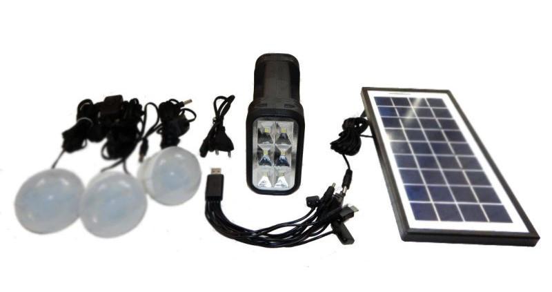 Аккумулятор фонарь от солнечной батареи GD-8017А