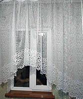 Тюль Декор  Арка 165 х 300 Белый 01477