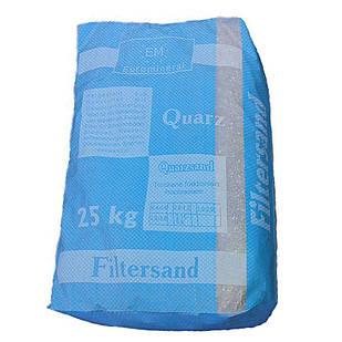 Песок кварцевый Filtersand, фракция 0.8 - 1.2 мм (Украина), мешок 25 кг