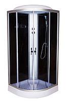 Гидробокс 90х90 RC Eco 61 BF CH низкий поддон, тонированное стекло