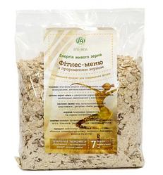 Фитнес-меню толокно из пророщенного зерна (ТМ Грин Виза) уп.200 г