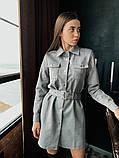 Платье / замш на дайвинге / Украина 13-221, фото 7