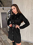 Платье / замш на дайвинге / Украина 13-221, фото 3