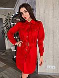 Платье / замш на дайвинге / Украина 13-221, фото 9