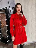 Платье / замш на дайвинге / Украина 13-221, фото 4