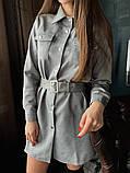 Платье / замш на дайвинге / Украина 13-221, фото 2