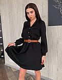 Платье / креп костюмный / Украина 13-245, фото 3