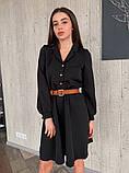Платье / креп костюмный / Украина 13-245, фото 6