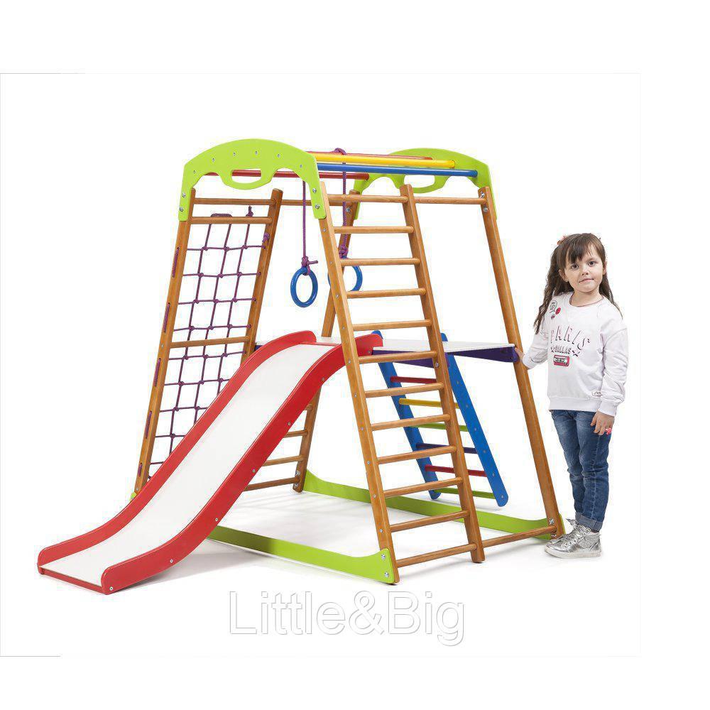 Детский спортивный комплекс для дома BabyWood Plus 2  Sport-B