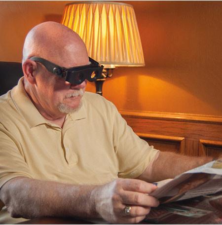 Увеличительные очки бинокль ZOOMIES x300-400%